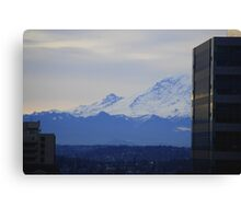 Mt. Rainier from Seattle Canvas Print