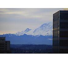 Mt. Rainier from Seattle Photographic Print