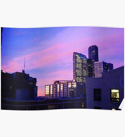 Stellar Seattle Sunrise Poster
