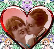 Vintage Valentine With My Own Redo's by rbarnes2