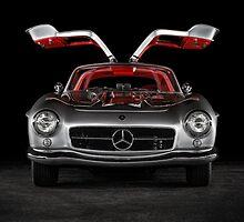1957 Mercedes-Benz 300SL Gullwing by - speedNbeauty-