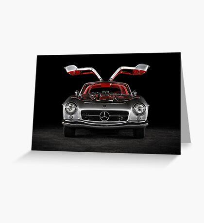 1957 Mercedes-Benz 300SL Gullwing Greeting Card