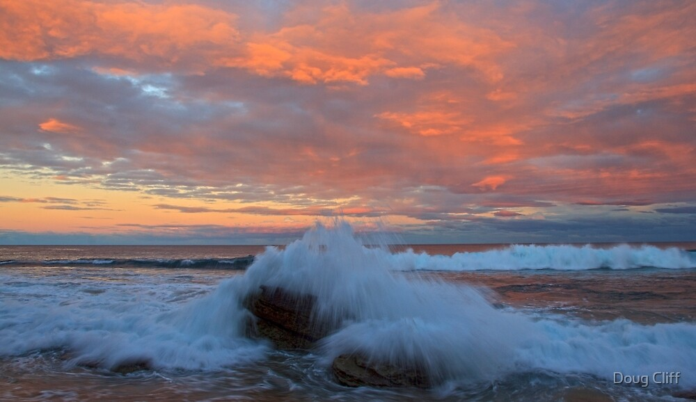 Turimetta Sunset by Doug Cliff