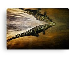 Reptile Relecting Canvas Print