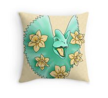 Dilophodil  Throw Pillow