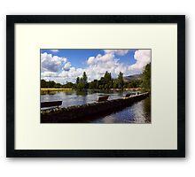 The River Teith Framed Print