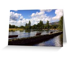 The River Teith Greeting Card