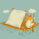 Chicken on a Raft by Lili Batista