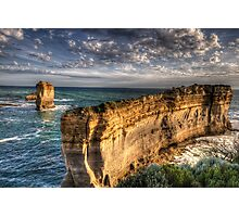 Resolution - Razorback , Great Ocean Road - The HDR Experience Photographic Print