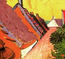 Street in Saintes Marie, Vincent van Gogh.   Sticker