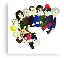 The 13 Puppet Doctors Canvas Print