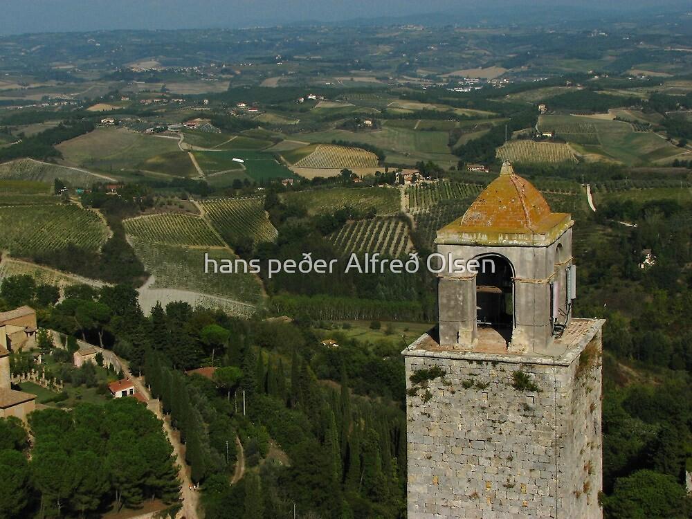 Tuscany by hans p olsen