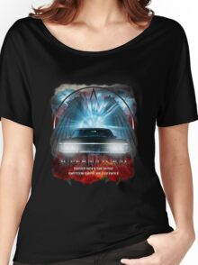 Supernatural Driver picks the music shotgun shuts his cakehole Darkness Women's Relaxed Fit T-Shirt