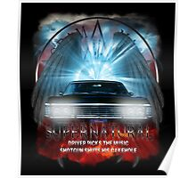 Supernatural Driver picks the music shotgun shuts his cakehole Darkness Poster