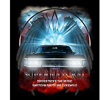 Supernatural Driver picks the music shotgun shuts his cakehole Darkness Photographic Print