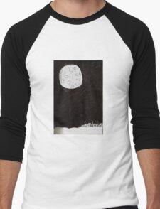 Small Town Moon Men's Baseball ¾ T-Shirt