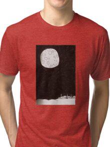 Small Town Moon Tri-blend T-Shirt