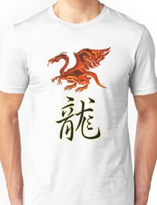 Dragon Chinese Zodiac Designers T-shirt and Stickers Unisex T-Shirt