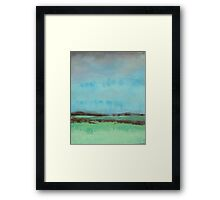 Rain on the Meadow  Framed Print