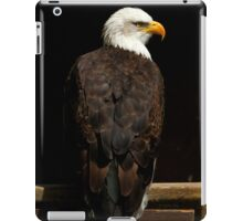 The gaze of a hero iPad Case/Skin