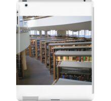 Mt. Angel Abbey Library, Oregon iPad Case/Skin