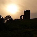 Old John Bradgate Park Leicester sunset by alan700