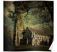 St. Alban's English Church Poster
