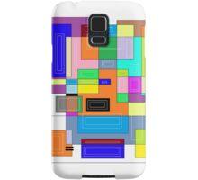 Colorful Udesign Block #1 Samsung Galaxy Case/Skin