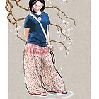 Sakura Girl by goanna