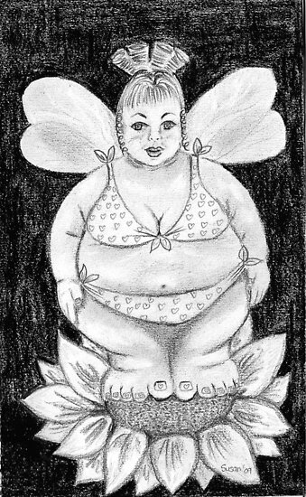 Fuller Figure Fairy Series 1 by Susan van Zyl