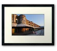 Cork Bonded Warehouses Framed Print