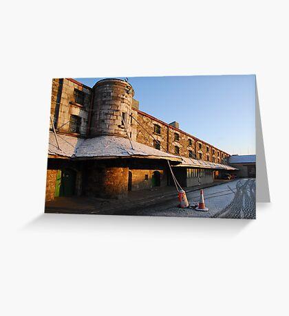 Cork Bonded Warehouses Greeting Card