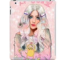 Lady Rainicorn, Jake, & the 5 puppies iPad Case/Skin