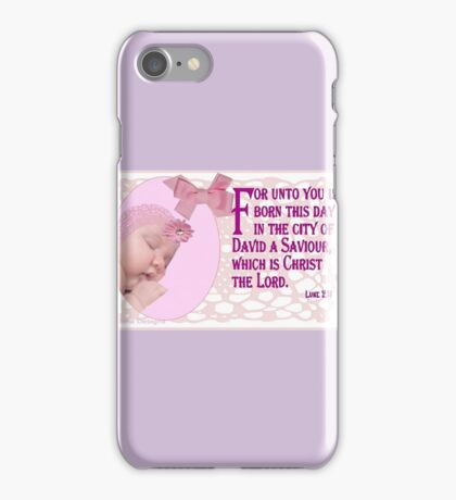 A Baby ( 14991 Views) iPhone Case/Skin