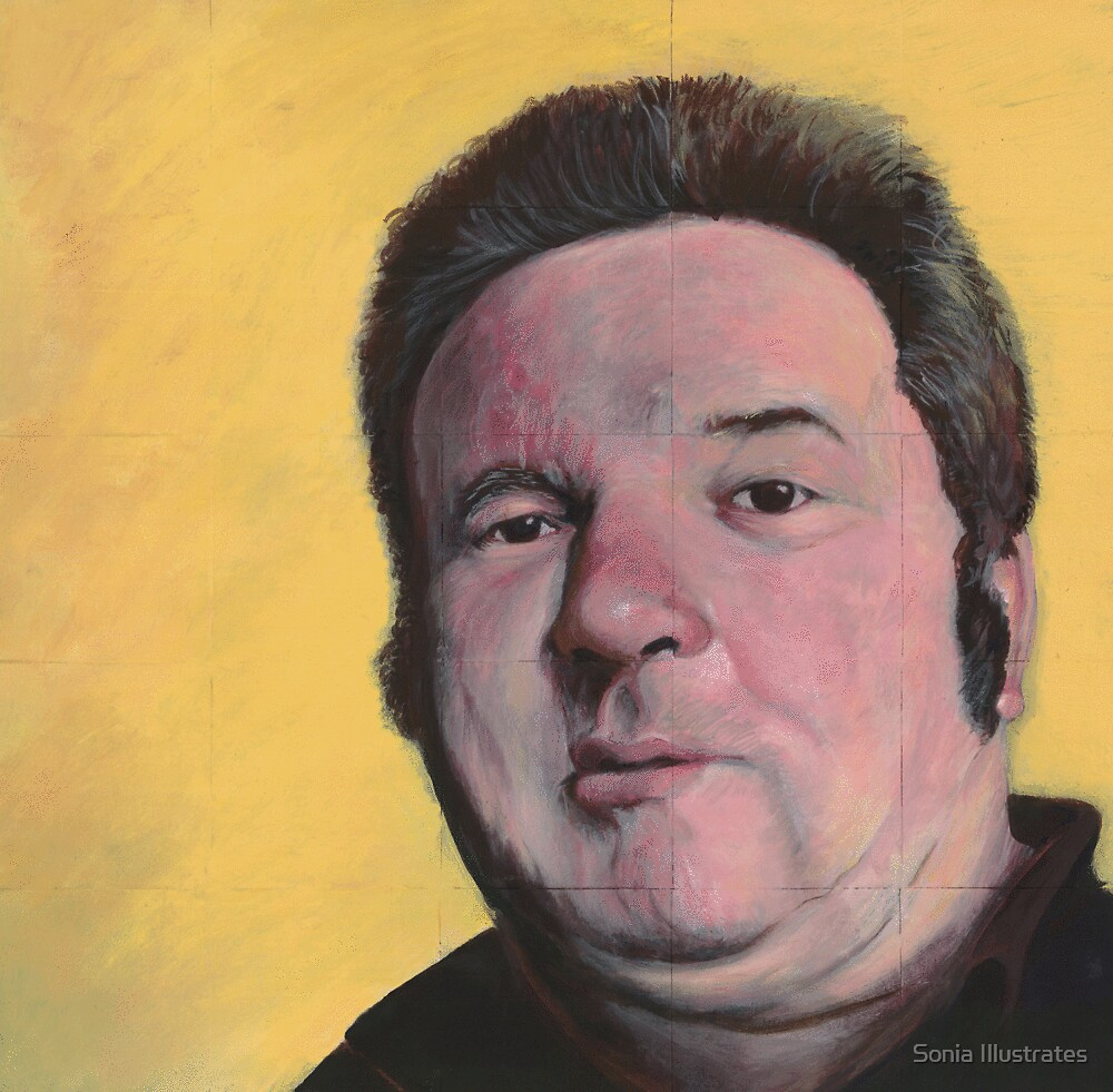 Portrait of a Mark by Sonia Illustrates