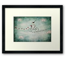 In the pursuit of happiness Framed Print