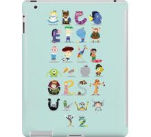 Animated characters abc iPad Case/Skin