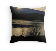 Catchlight ... a Catcher caught! Throw Pillow