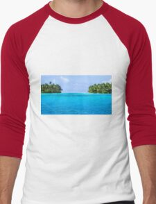 Marshall Islands 2 Men's Baseball ¾ T-Shirt