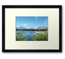 Grand Teton National Park. Landscape photography  Framed Print