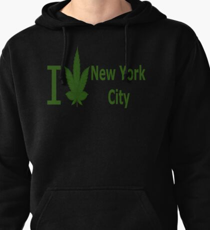 0003 I Love New York City  Pullover Hoodie