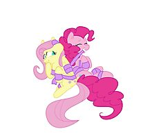 Pinkie Pie and Fluttershy Photographic Print