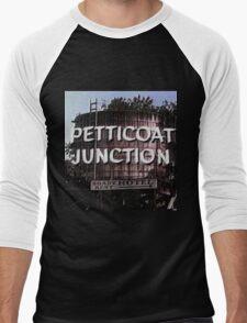 Petticoat Junction water tower Men's Baseball ¾ T-Shirt