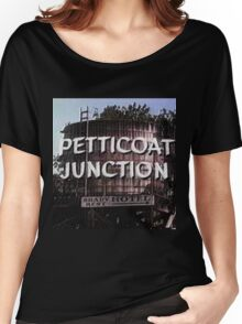 Petticoat Junction water tower Women's Relaxed Fit T-Shirt
