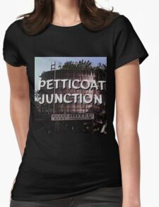 Petticoat Junction water tower Womens Fitted T-Shirt