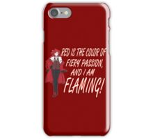 Grell is Flaming Red! iPhone Case/Skin