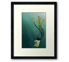 * seaweed * Framed Print