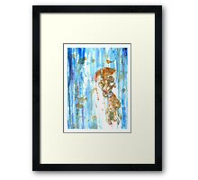 Sun is cold and rain is hot Framed Print