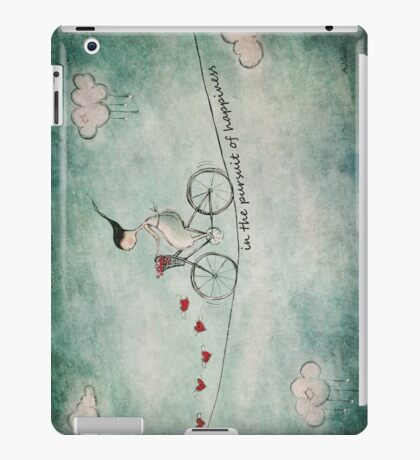 In the pursuit of happiness iPad Case/Skin