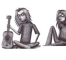 Rag Doll Pearl Jam by Hannah Christine Nicholson
